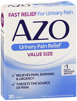 AZO Urinary Pain Relief Tablets 30 TB