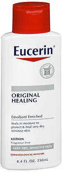Eucerin Original Healing Lotion 8.4 OZ