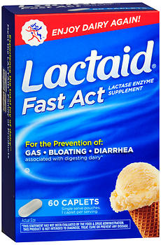 LACTAID Fast Act Caplets 60 CP