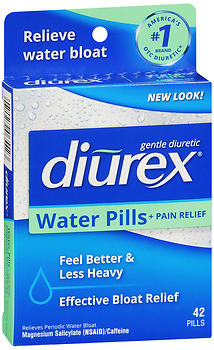 DIUREX Water Pills + Pain Relief 42CT