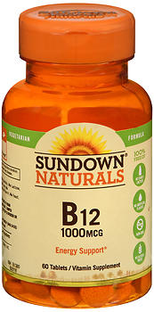 Sundown Naturals B12 1000 mcg Tablets 60 CT