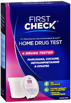 First Check Home Drug Test 4 Drug