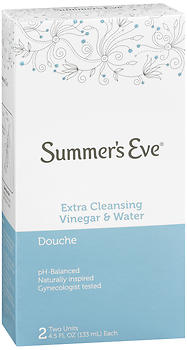 Summer's Eve Douches Extra Cleansing Vinegar & Water 9 OZ