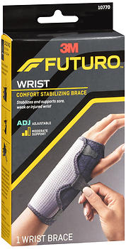 FUTURO Comfort Stabilizing Wrist Brace Moderate Support Adjustable