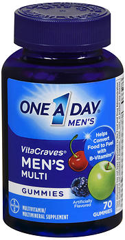 One A Day VitaCraves Men's Multi Gummies 70 CT