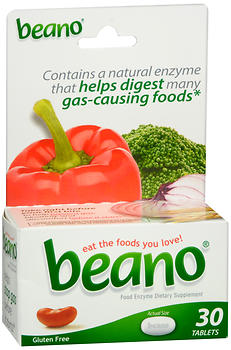 Beano Food Enzyme Tablets 30CT