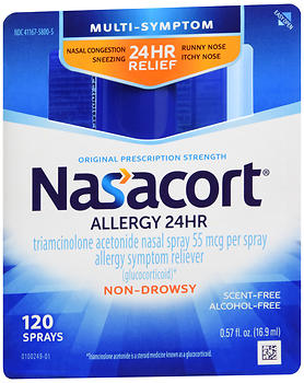 Nasacort Allergy 24 Hr Spray 120 Metered Sprays