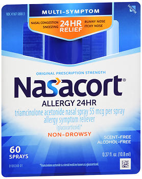 Nasacort Allergy 24 Hr Spray 60 Metered Sprays