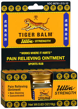 Tiger Balm Pain Relieving Ointment Ultra Strength 0.63 oz