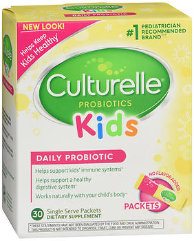 Culturelle Kids Daily Probiotic Formula Single Serve Packets