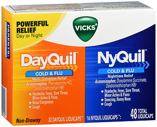 DayQuil/NyQuil Cold & Flu LiquiCaps 48 CP