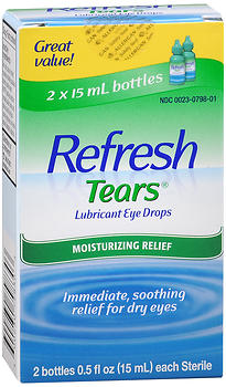REFRESH Tears Lubricant Eye Drops 1 OZ