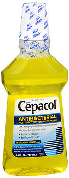 Cepacol Antibacterial Multi-Protection Mouthwash Original 24 oz