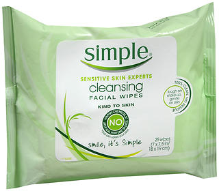 Simple Cleansing Facial Wipes 25 EA