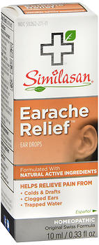 Similasan Earache Relief Ear Drops 0.33 OZ