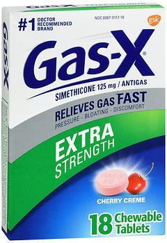 Gas-X Extra Strength Chewable Tablets Cherry Creme