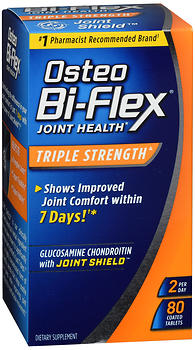 Osteo Bi-Flex Joint Health Coated Tablets Triple Strength 80 CP