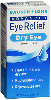 Bausch + Lomb Advanced Eye Relief Drops Dry Eye 0.5 oz