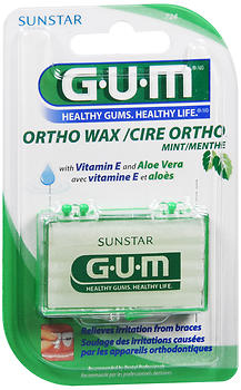 Gum Ortho Wax Mint