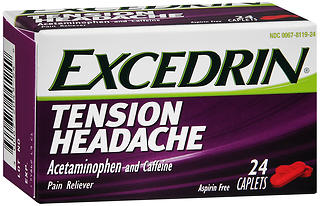 Excedrin Tension Headache Caplets 24 CP