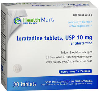 Health Mart Loratadine 10 mg Tablets