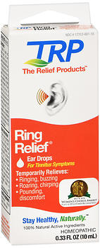 The Relief Products Ring Relief Homeopathic Ear Drops 0.33 OZ