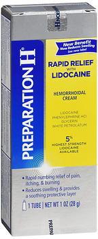 Preparation H Hemorrhoidal Cream Rapid Relief