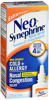 Neo-Synephrine Nasal Spray Extra Strength 15 ML