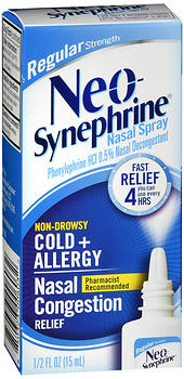 Neo-Synephrine Nasal Spray Regular Strength 15 ML