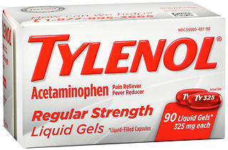 TYLENOL Regular Strength Liquid Gels 90 CP