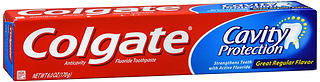 Colgate Cavity Protection Toothpaste Regular Flavor 6 oz