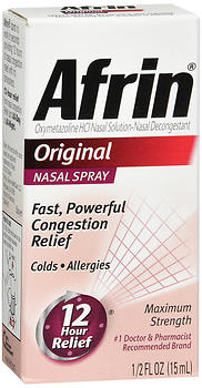 Afrin Original Nasal Spray 15 ml