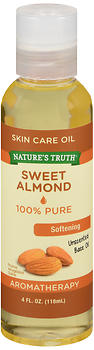 Nature's Truth Sweet Almond Skin Care Oil Unscented 4 OZ
