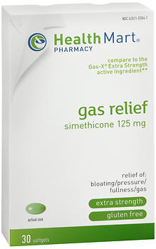 Health Mart Gas Relief Softgels