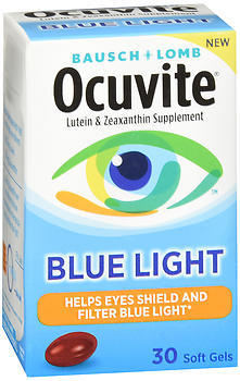 Bausch + Lomb Ocuvite Blue Light Soft Gels 30 CT