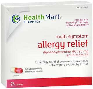 Health Mart Allergy Relief Capsules