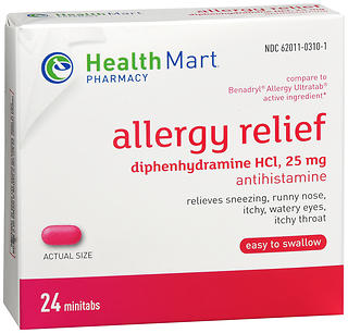 Health Mart Allergy Relief Minitabs