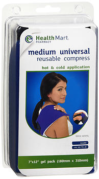 Health Mart Pharmacy Medium Universal Reusable Hot & Cold Compress 1 EA