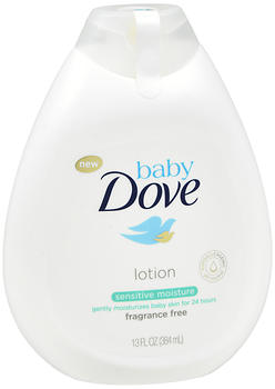 Baby Dove Lotion Sensitive Moisture Fragrance Free 13 oz