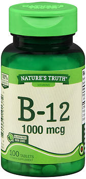 Nature's Truth B-12 1000 mcg Tablets 100 TB