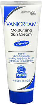 Vanicream Moisturizing Skin Cream for Sensitive Skin 4 OZ