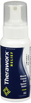 Theraworx Muscle Cramp and Spasm Relief Foam 7.1 OZ