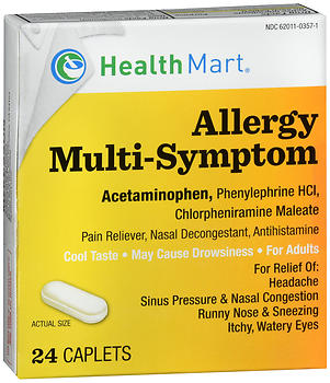Health Mart Allergy Multi-Symptom Caplets