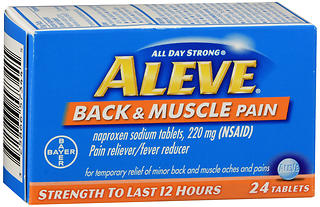 Aleve Back & Muscle Pain Tablets 24 TB