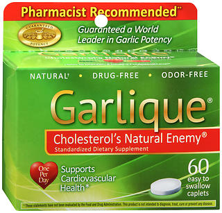 Garlique Caplets 60 CT