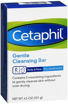 Cetaphil Gentle Cleansing Bar 4.5 OZ
