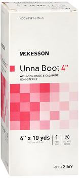 "McKesson Unna Boot 4""x10 yds 1 EA"