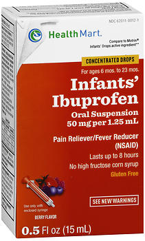 Health Mart Infants' Ibuprofen Oral Suspension Berry Flavor 0.5 OZ