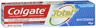 Colgate Total SF Whitening Anticavity, Antigingivitis and Antisensitivity Toothpaste 4.8 oz