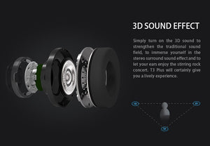 Bluedio T3 Wireless Spatial Audio Headphones - 3D Sound Effect - Headset  With Microphone BF